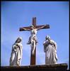 Lubitel 166u / Mt Calvary Cemetery (Michael Raso - Film Photography Podcast) Tags: lomo butler lubitel166u expiredfilm mtcalvarycemetery newjerseyusa ektachrome100plus