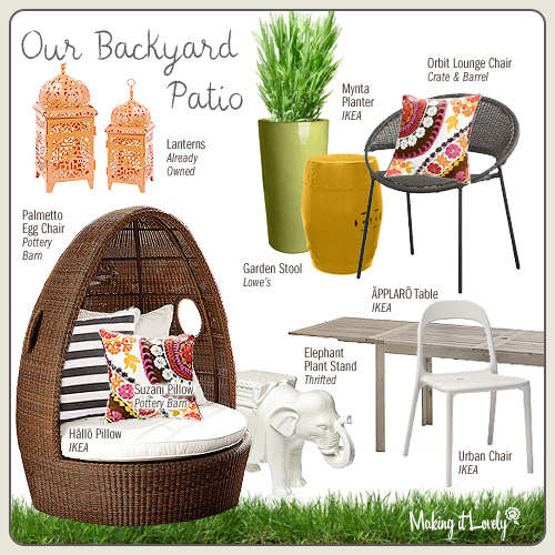 Our Backyard Patio Furniture