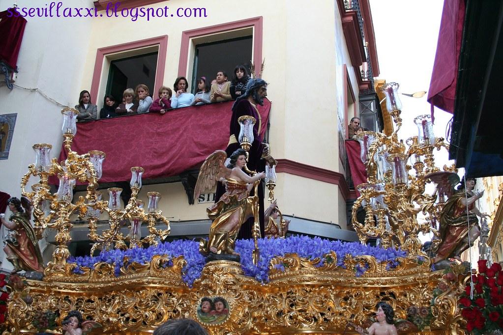 Nuestro Padre Jesús Cautivo en el Abandono de sus Discípulos. Lunes Santo 2008
