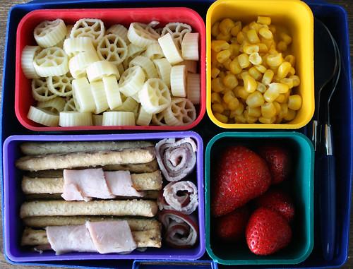 Kindergarten Bento #313: April 15, 2010