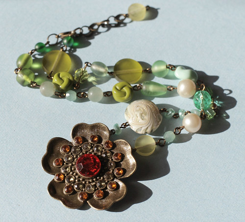 Under the Sea Jumble necklace