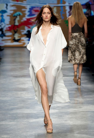 Stella McCartney spring runway