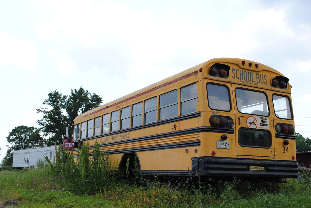 retired school bus