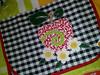 POrta travessas (Dipano Ateliê) Tags: de galinha pano patchwork prato cozinha jogos tecido aplicação apliqué dipano