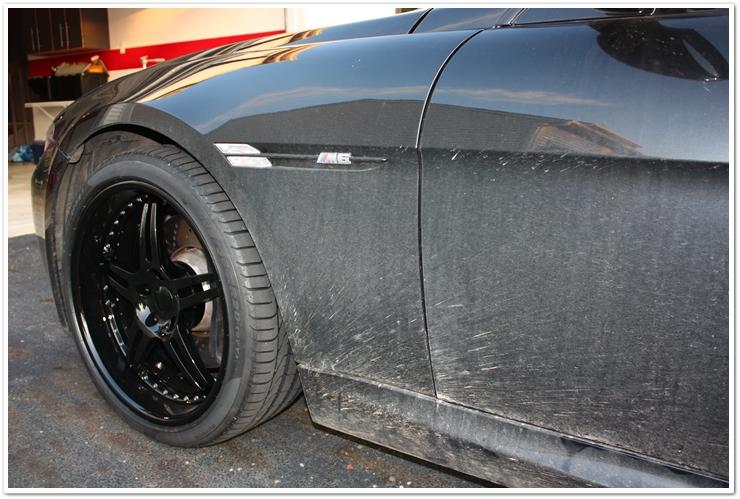 Dirty BMW M6