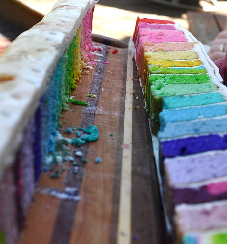 Rainbow (surprise) Cake