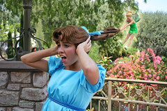 Hair Yank (briberry) Tags: photoshop bell disneyland tinkerbell disney peter pan wendy darling tinker