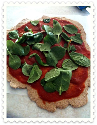 Honey Whole Wheat Pizza