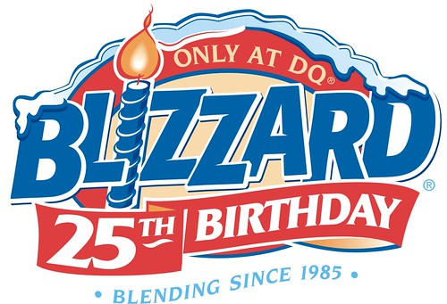 Dairy Queen Blizzard 25th Birthday