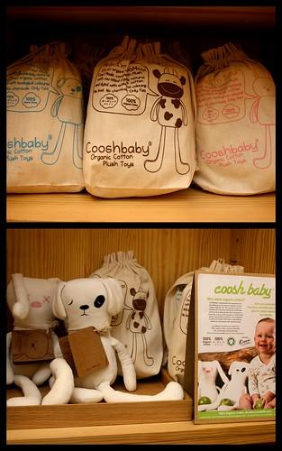 Coosh Baby organic cuddlies