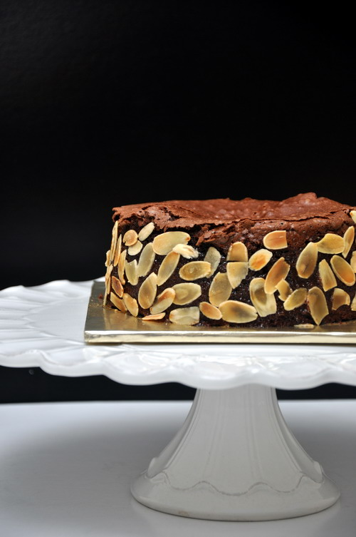 Japanese Chocolate Cherry Moist Cake 1