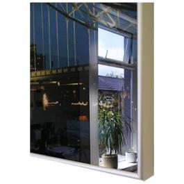 InfraHeat Aluminium Mirror Frame panel MDF Backed