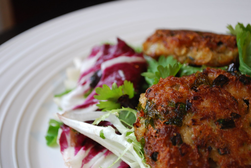 Ginger Scallion Crab Cakes - Always Order Dessert