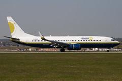 N733MA - 30619 - Miami Air - Boeing 737-81Q - Luton - 100423 - Steven Gray - IMG_0349