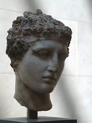 Marble Head of an Athlete, ca. A.C.E. 138-92 (Metropolitan Museum of Art) (takomabibelot) Tags: newyorkcity sculpture newyork geotagged metropolitanmuseumofart greekromanart 112102 rogersfund geo:lat=4077875005 geo:lon=7396313131 marbleheadofanathlete