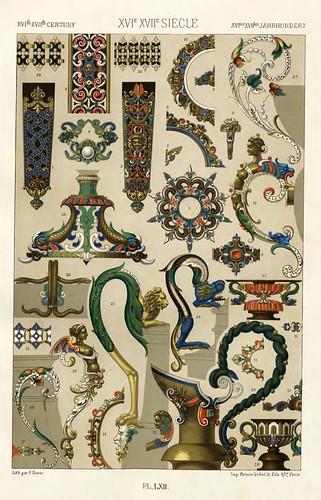 020-Ornamentos policromados siglos XVI-XVII-Das polychrome Ornament…1875