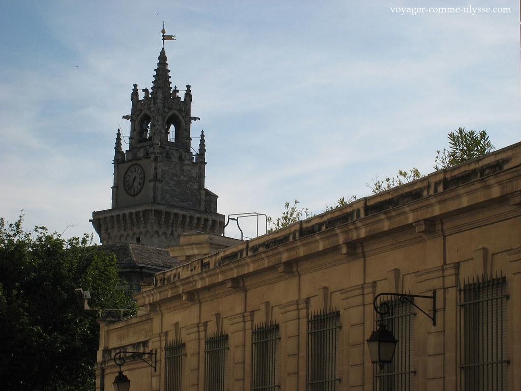 Tour de l'Horloge et son carillon à l'Hôtel de Ville