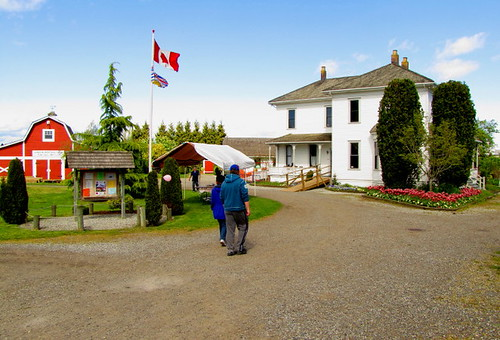 The historical London Heritage Farm in Richmond BC