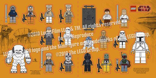Star Wars Sticker Sheet Front