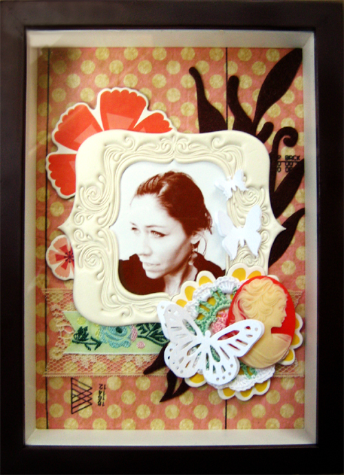 Mother's Day Shadowbox