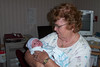 Grandma holding Jeremiah on the first day of his life (ClaraDon) Tags: thesuperbmasterpiece memorycornerportraits