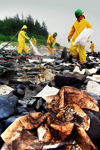 Oil Clean-Up in Alaska