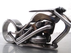 Motorcycle Sculpture