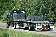TMC (myhotrod9) Tags: truck semi pete conventional trucking peterbilt 18wheeler flatbed tractortrailer bigrig class8 largecar