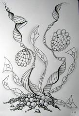 Shelley (Jo in NZ) Tags: drawing doodle zentangle nzjo zendoodle