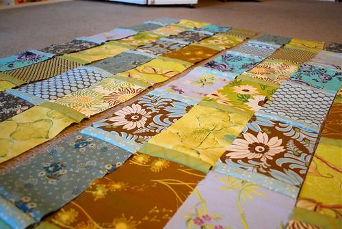 My next quilt in progress