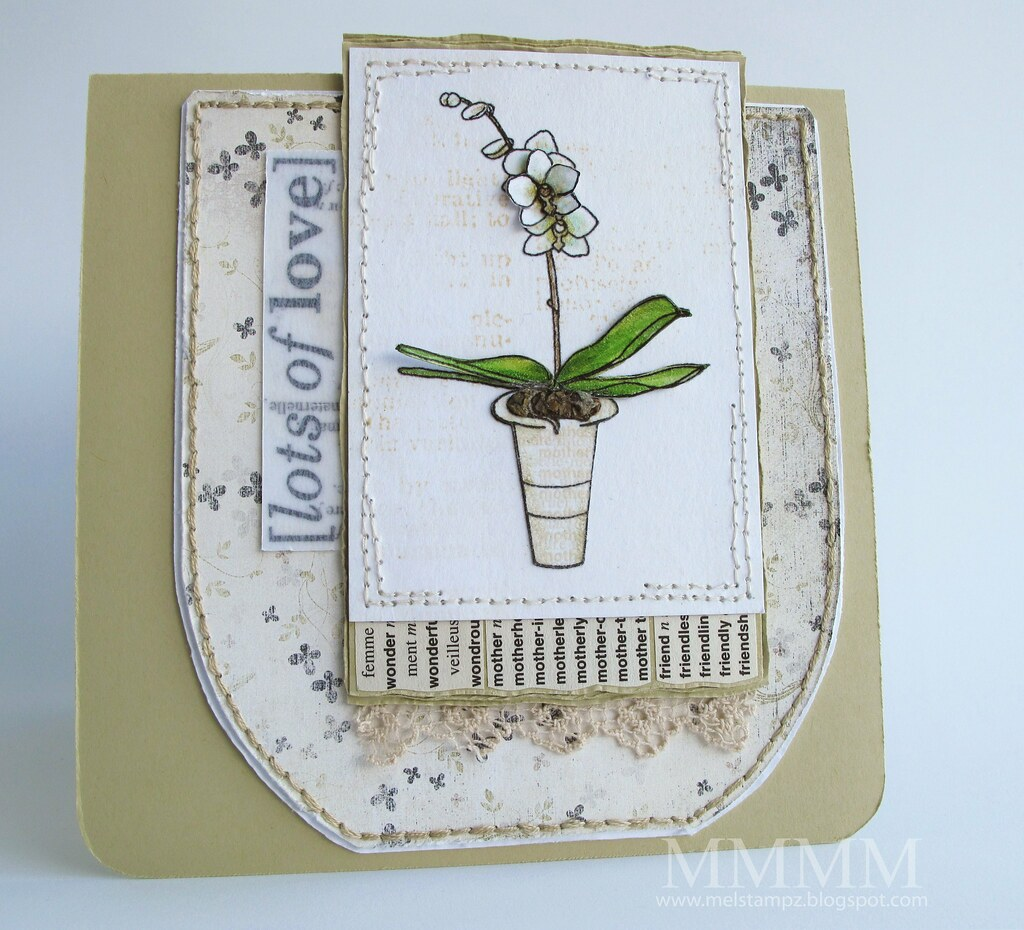 Mother's Day Orchid Digi from A Passion for Stamps & Vinnie  Pearce Paper