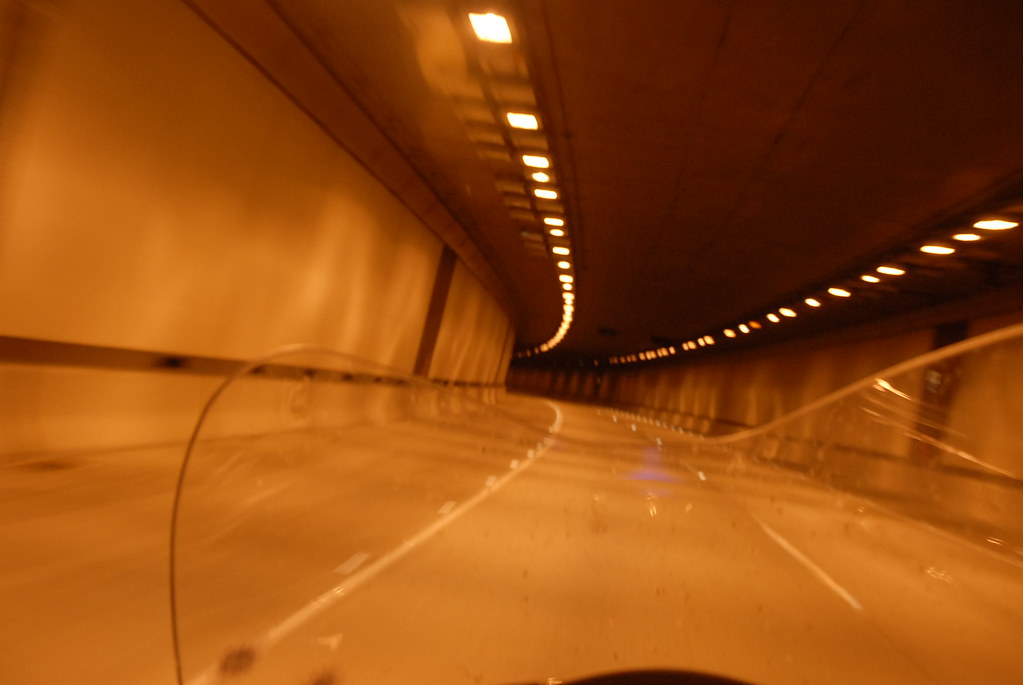 Tunneling.