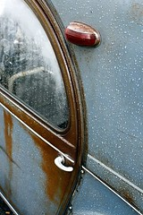 Deuxchevaux rouillée (Jochem_Veenstra) Tags: car duck citroen 2cv ent eend citromobile