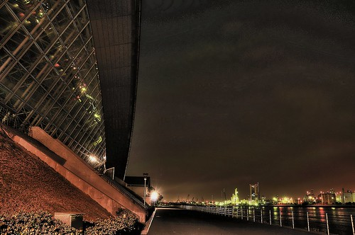 Yokkaichi city Night View 12 / HDR