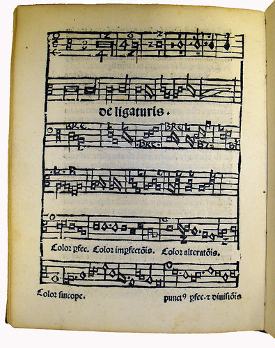 Musical diagram from 'Opusculum Musices'