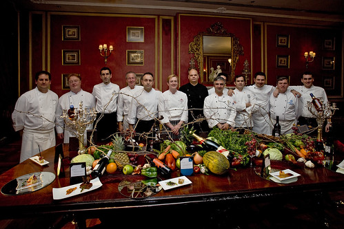 Los cocineros de Starwoods Hotels & Resorts presentes en el concurso de Tapas, Pintxos y Petiscos