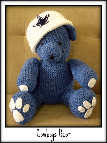 Re: NFL Crochet Pattern for dallas cowboys afghan