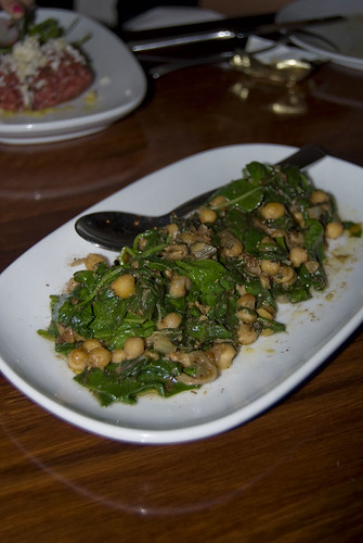bar lourinha Spiced chickpea & spinach