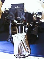 Photography Gear 05.18.10 (Aperture Life Photography) Tags: 50mm photo nikon gear setup tamron journalist iphone 70200mm d90 lumiquest honl 1750mm d700