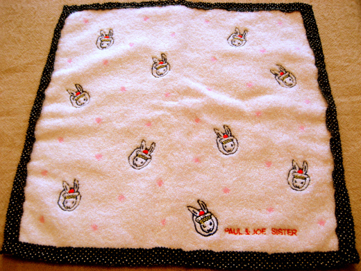 Bunny and Cat Hand Towel from Paul & Joe Sister