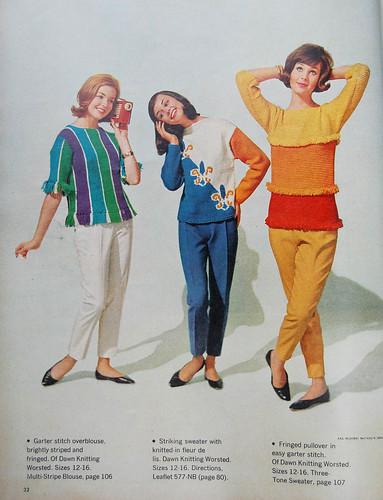 1962 McCalls Jayne sweater