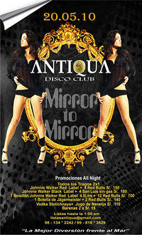 Mirror To Mirror - Antiqua Disco Club