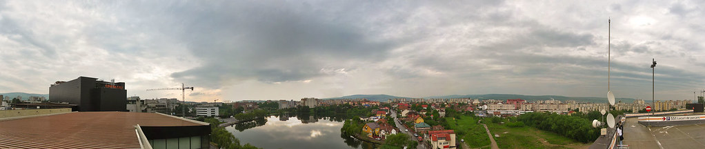 Panorama from Iulius Mall 1
