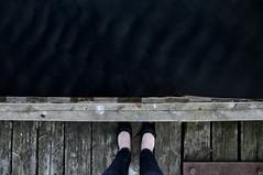 pale skin (evelynpecori) Tags: wood sea ballerina shoes skin pale lofoten