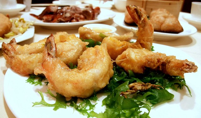 Deep Fried Prawn in Bean Curd Sheet