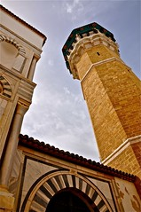 Mosque (sfPhotocraft) Tags: tower northafrica tunisia muslim tunis mosque 2010 placeofworship