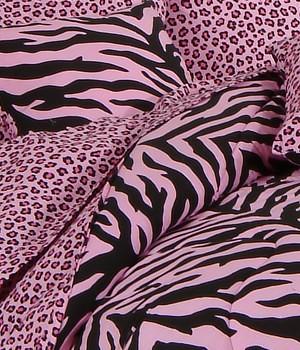 Kimlor Pink Zebra at www.uniquelinensonline.com