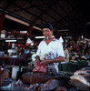 at the wet market (lcy) Tags: mamiyac330f sekor65mmf35 fujichromeprovia400x rxp tlr e6 slide 120mm mediumformat squareformat ishootfilm epsonv700 travel malaysia2010 malacca melaka worldheritagesite unesco peopleatwork candid market dailylife 馬六甲 6x6 portrait