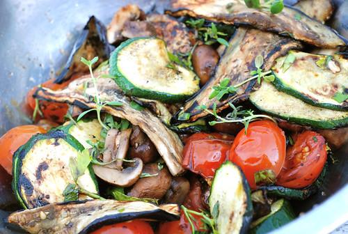 grillitud köögiviljad/grilled vegetables