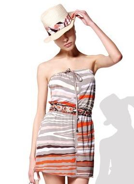 Moda mujer verano 2010, ropa para la playa de Emilio Pucci